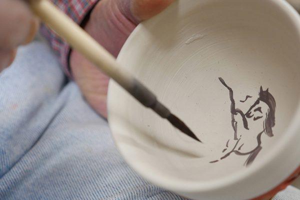 2018.12.1 ワークショップ「豆皿に絵付けしよう」参加者募集